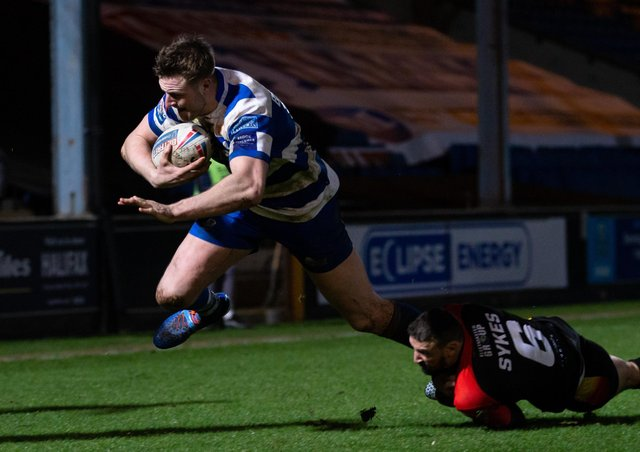 Grix Happy With Effort Despite Defeat As Match Officials Spark Controversy Halifax Courier