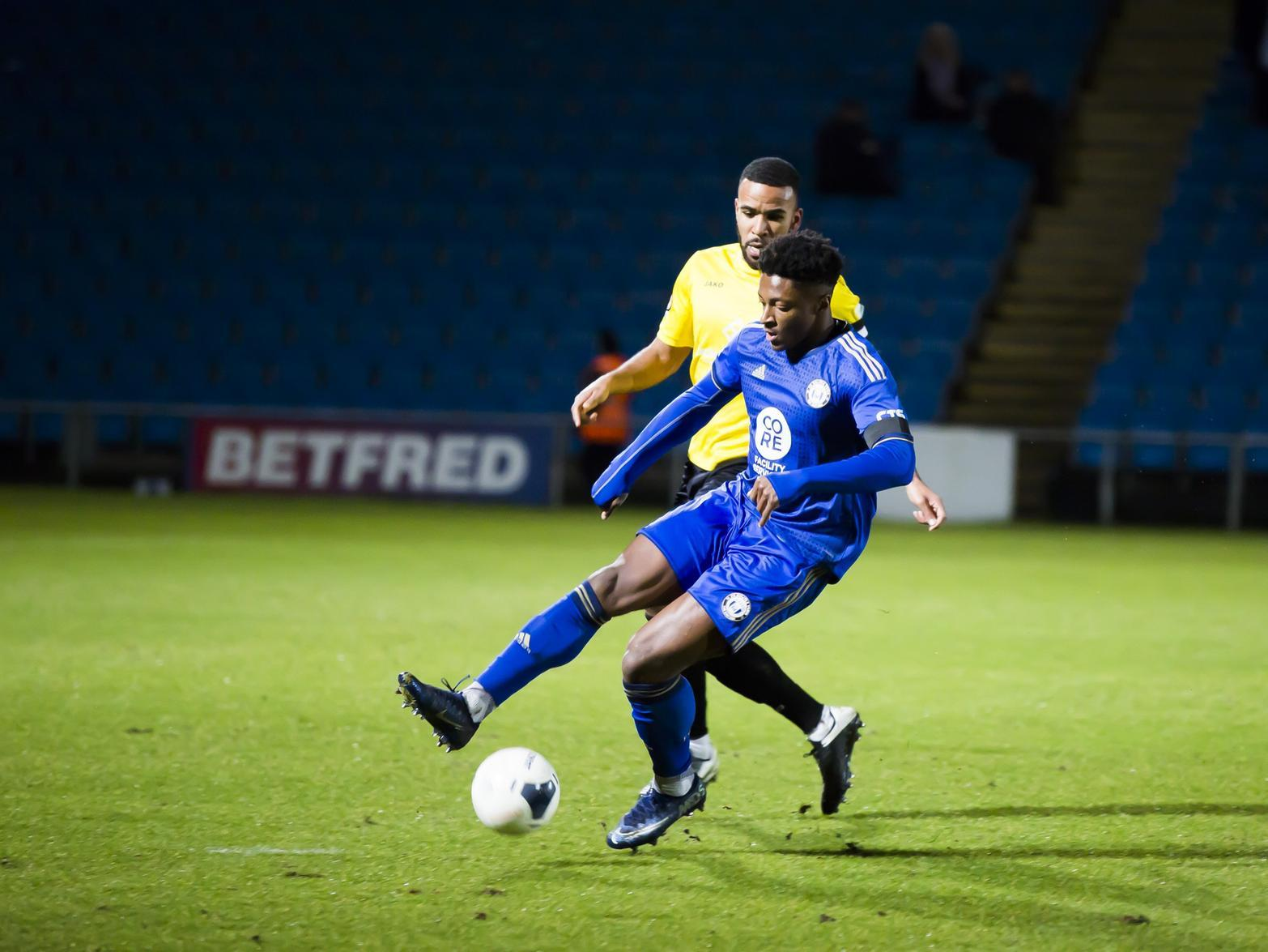 FC Halifax Town: Wild dismisses rumours surrounding striker Devante Rodney's future