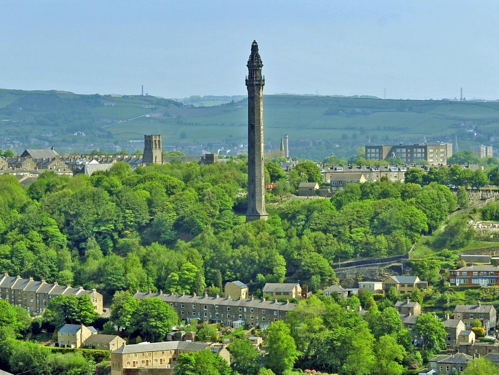 The story of Wainhouse Tower - the Halifax chimney that never was ...