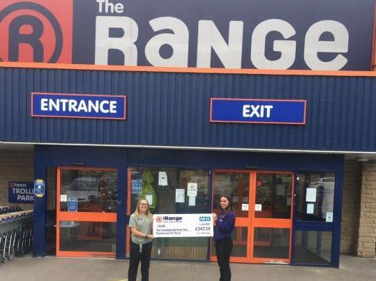 The Range Halifax helps raise over £51,479 for the NHS | Halifax Courier