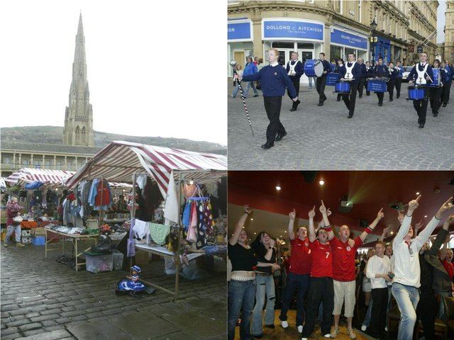 13 pictures showing life in Halifax town centre in 2000s