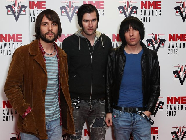 The Cribs at the NME Awards in 2013
