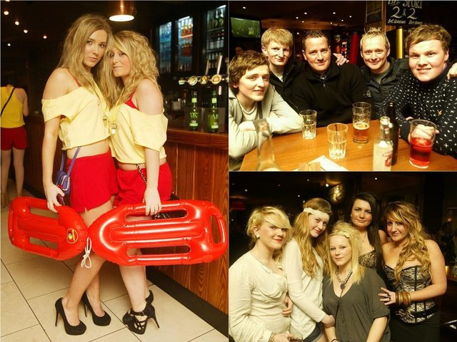 On the town back in 2011