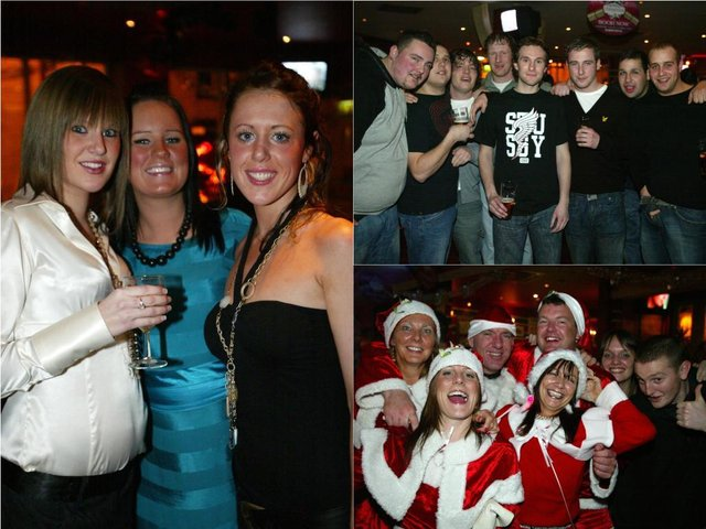 Photos that will take you back to a festive night out in Halifax in 2006