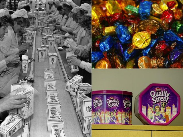 12 pictures of the Halifax factory home to Quality Street over the years