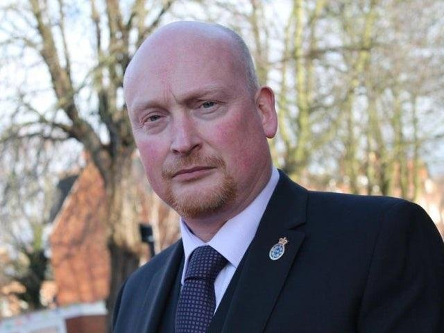 West Yorkshire Police Federation Chair Brian Booth