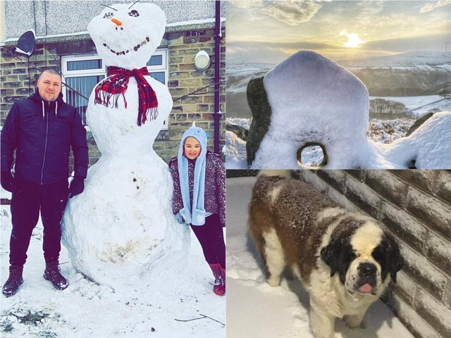 17 more pictures of Calderdale in the snow as more is forecast for the weekend