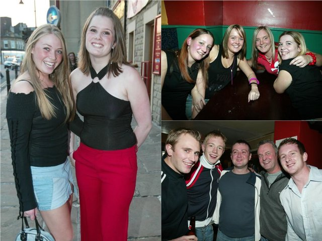 A night out in Halifax back in 2003.