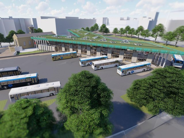 How Halifax bus station will look in the future