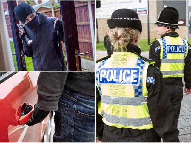 Crime stats have been released by the Calderdale police force