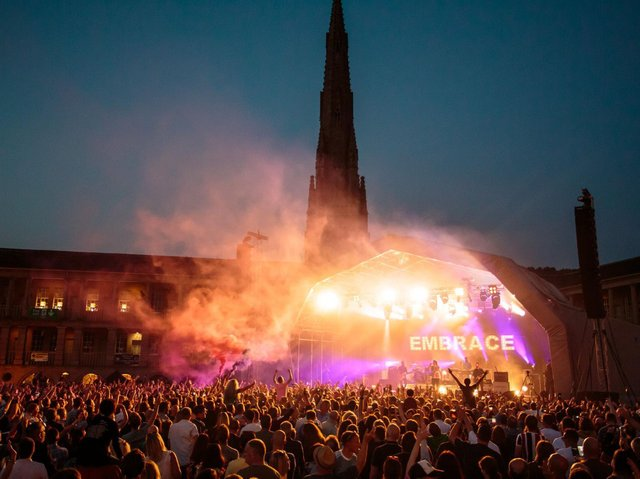 The Piece Hall is set to welcome back top music acts this year
