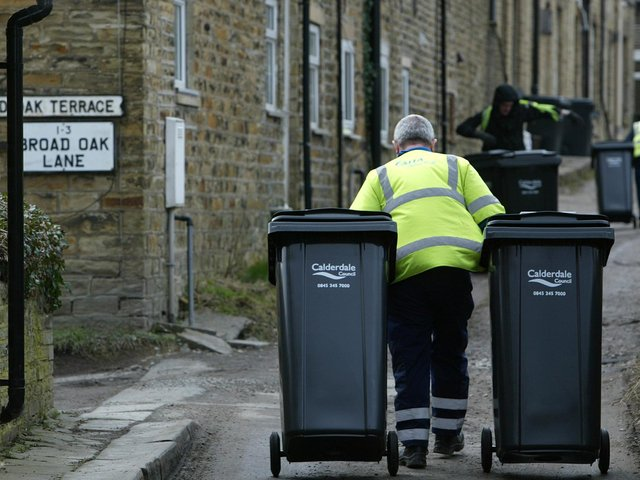 Calderdale residents produce nearly 400 kg of yearly waste per person