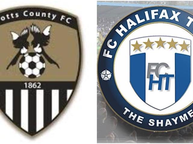 Notts County v FC Halifax Town