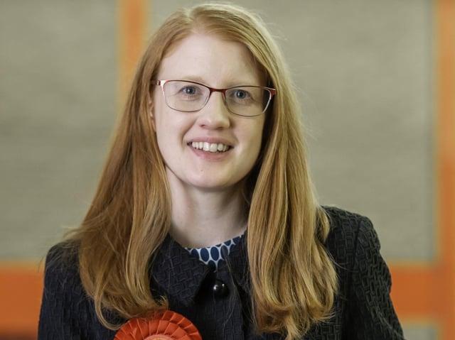 Halifax MP Holly Lynch. Photo: PA