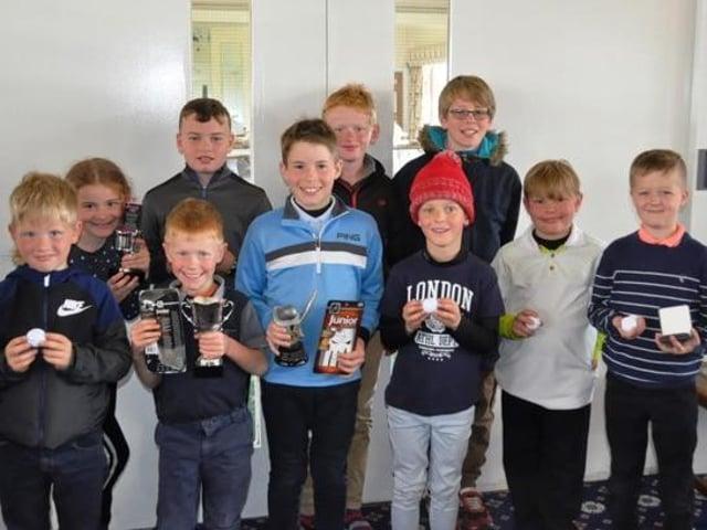Bridlington Golf Festival winners from 2019.