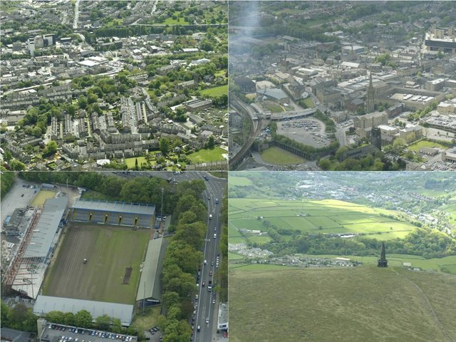 19 aerial pictures of Halifax and other Calderdale towns as you've never seen them before