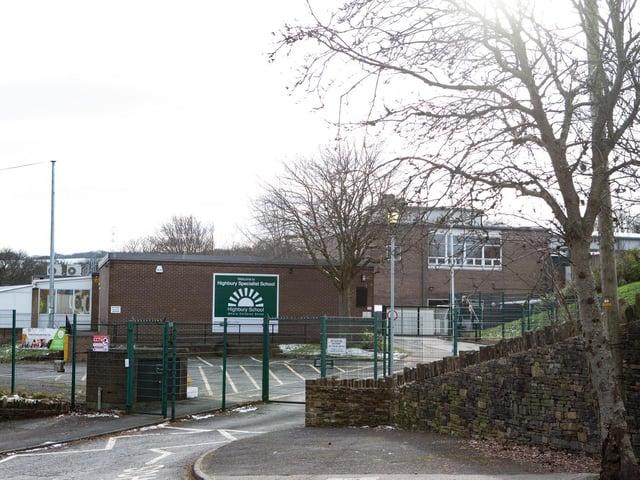 Highbury school in Rastrick