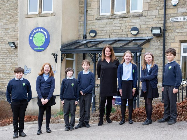 Gina Blagbrough, who has been appointed principal at Scout Road Academy.