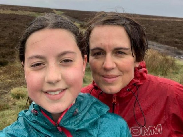 Liz Hainsworth and her daughter Fearne.