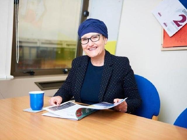 Calderdale's Director of Public Health, Debs Harkins,