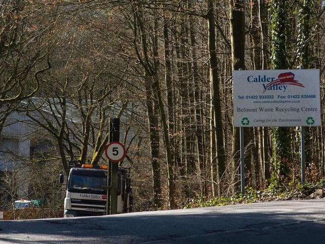 Calder Valley Skip Hire, Belmont Industrial Estate, Rochdale Road,