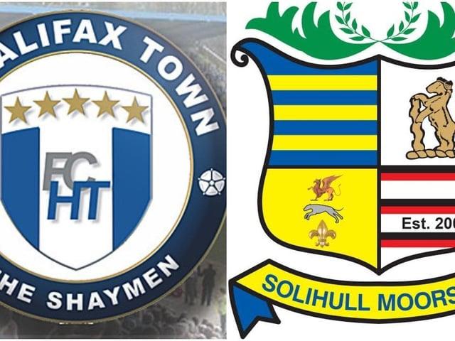 FC Halifax Town v Solihull Moors