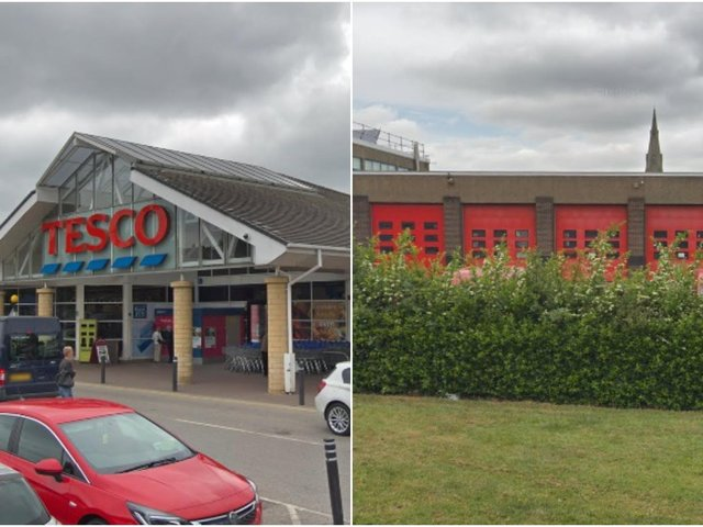 Tesco and West Yorkshire Fire and Rescue Service have shared their commitment to make their community feel safe by telling people they are 'places of safety.'
