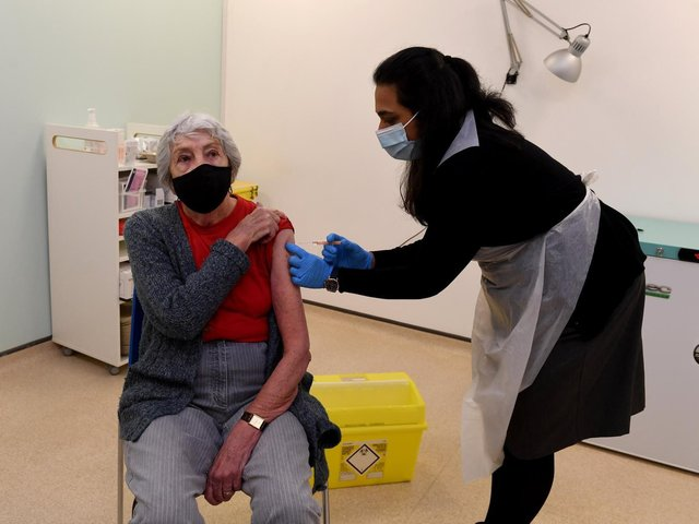 Covid-19 vaccine rates on the rise