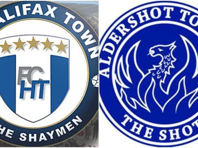 FC Halifax Town v Aldershot