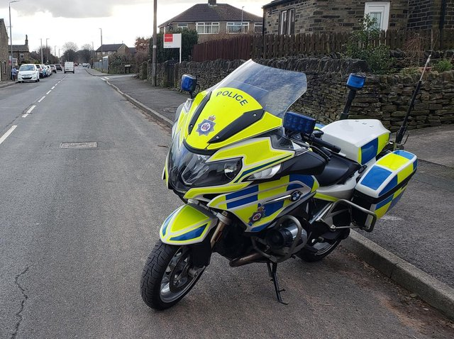 Police bikes are being deployed in Calderdale