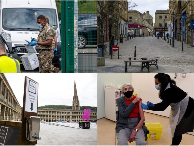 Lockdowns, vaccinations, testing centres - a lot has happened in the last year in Calderdale