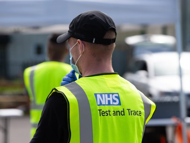 Calderdale will take part in a pilot scheme involving NHS test and trace
