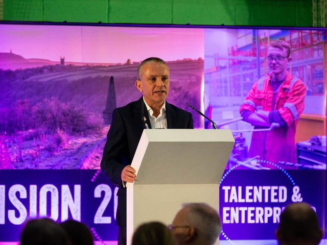 Robin Tuddenham, co-Chair of West Yorkshire Prperaed and Chief Executive of Calderdale Council,