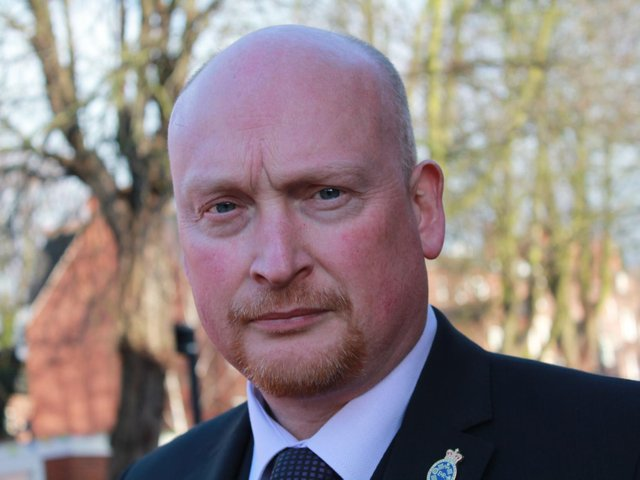 Chair of the West Yorkshire Police Federation Brian Booth