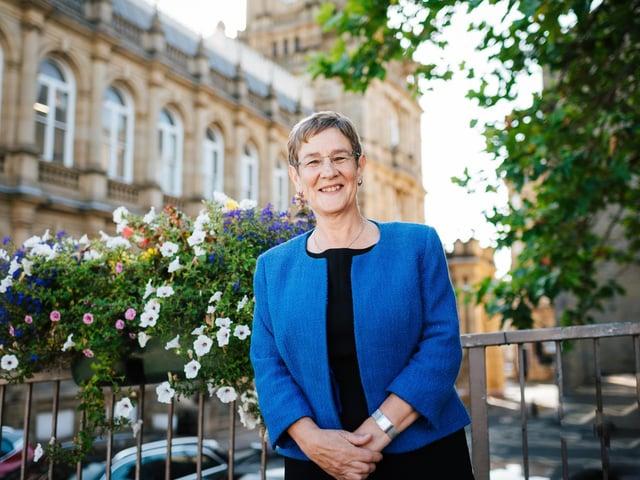 Councillor Jane Scullion, Calderdale Council's Deputy Leader