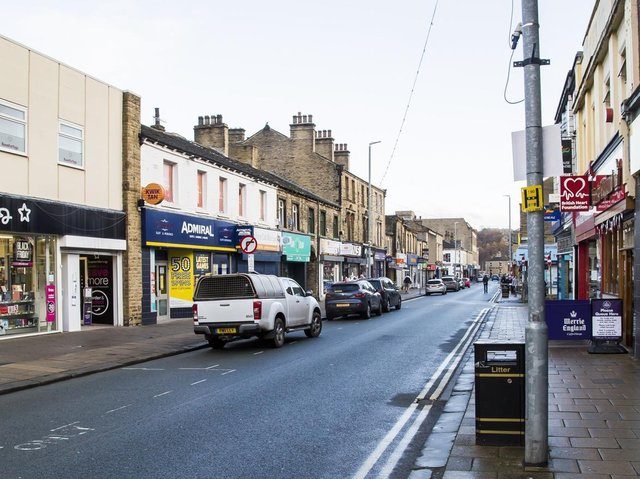 Commercial Street in Brighouse