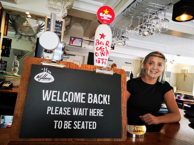 Pubs and restaurants are set to re-open on April 12