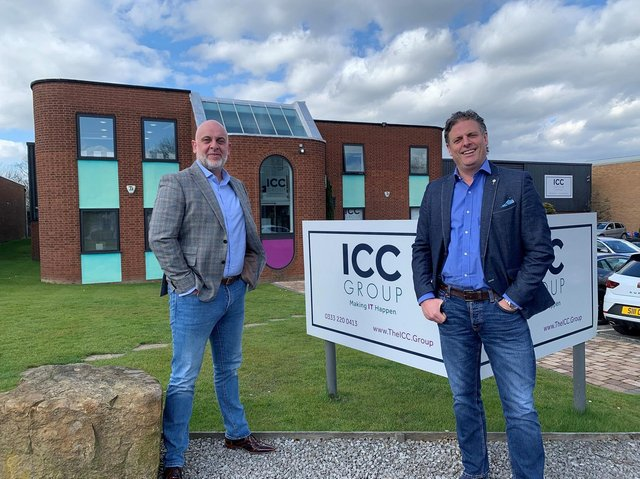 Gary Saunders and Leon Wheelerfrom The ICC Group