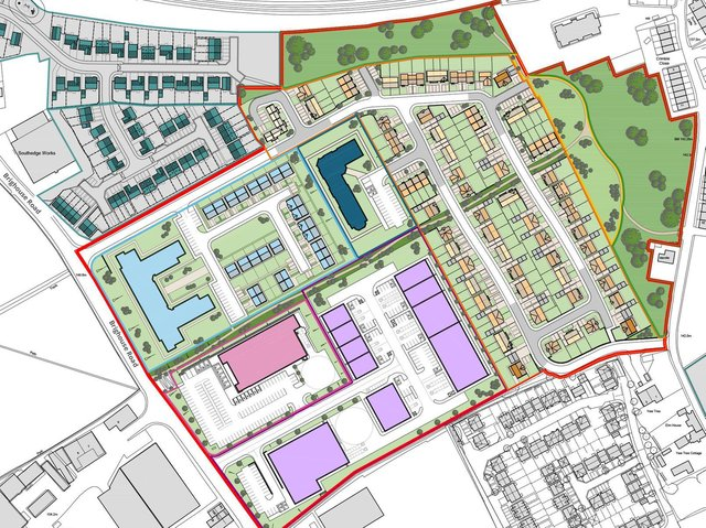Where it all might go: Masterplanning for the Crosslee, Hipperholme, site