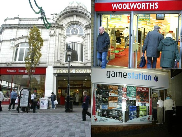 The shops Halifax used to have - how many do you remember?