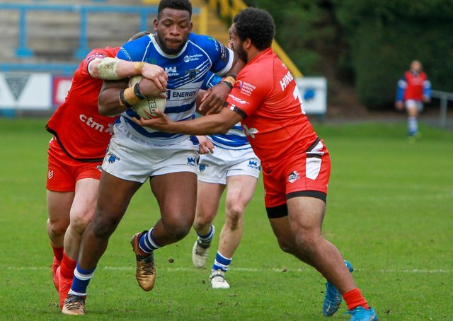 Halifax Panthers are aiming to build on their win against London Broncos. Simon Hall/OMH Rugby Pics