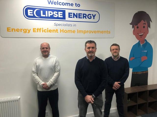 Eclipse Energy Directors David Grayson, Mark Bannister and Matthew Wilkinson