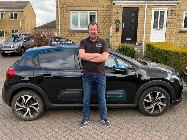 Elland driving instructor Jon Morton, of JBM Driver Training Academy