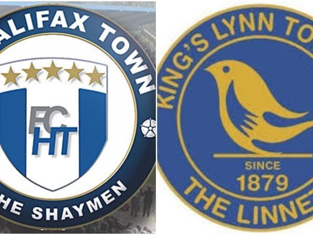 FC Halifax Town v King's Lynn