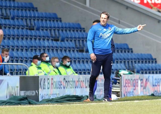 Chesterfield boss James Rowe