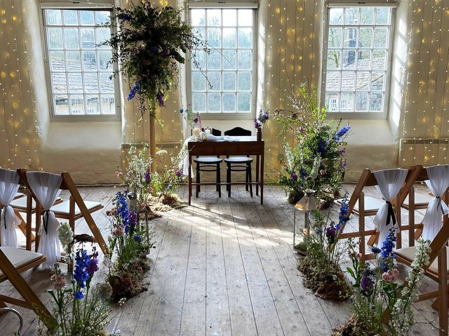Gibson Mill opened its doors at the weekend for a wedding showcase. Picture: Flora Simpson