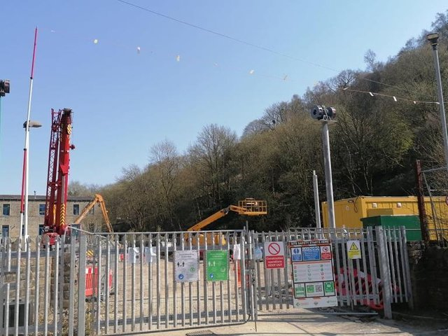 The test is taking place due to the replacement of the siren at the Vale Centre site on Stubbing Holme Road