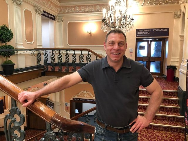 Calderdale Council's Theatre and Cultural Programmes Manager, Tim Fagan