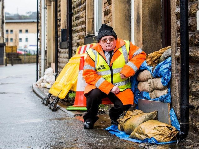 Keith Crabtree, has been nominated for an award for his flood warden work in Todmorden.