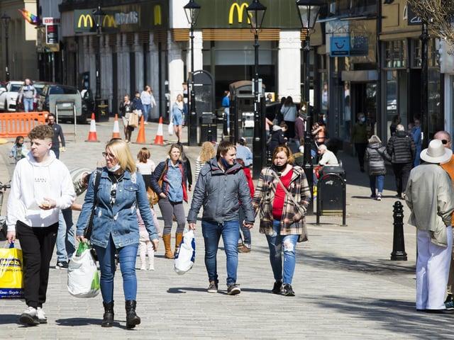 Calderdale shoppers go on spending spree as lockdown eases, figures reveal